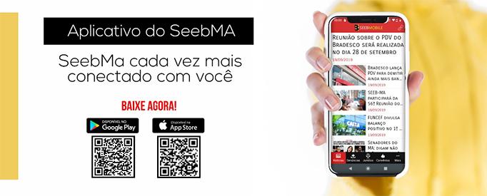Baixe o SEEBMA APP na Apple Store ou na Play Store!